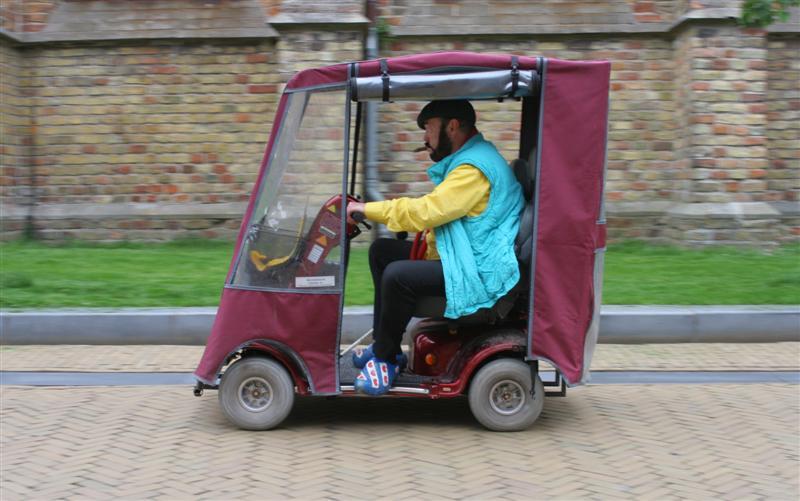 Hans Kisling driving
