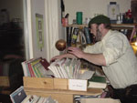 Hans Kisling busy