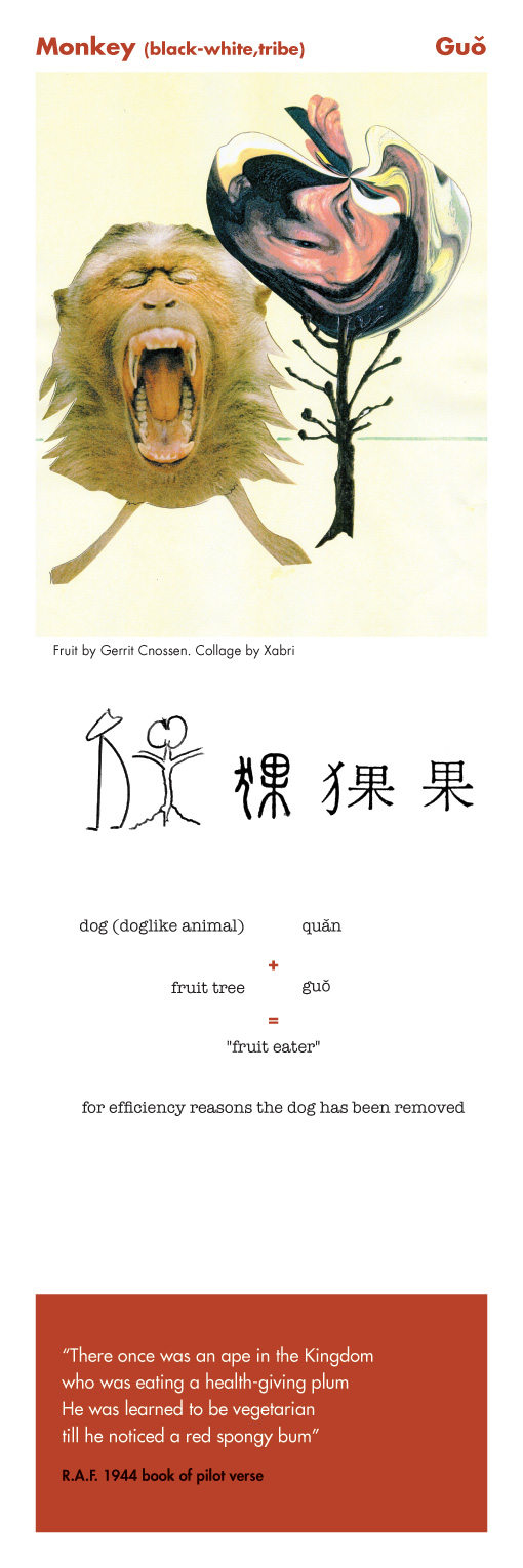 Monkey - Guo is the Chinese sign of the week