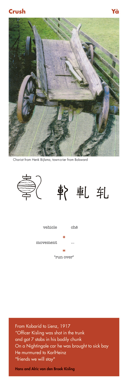 Chinese character Crush - Ya