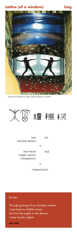 Chinese character lattice