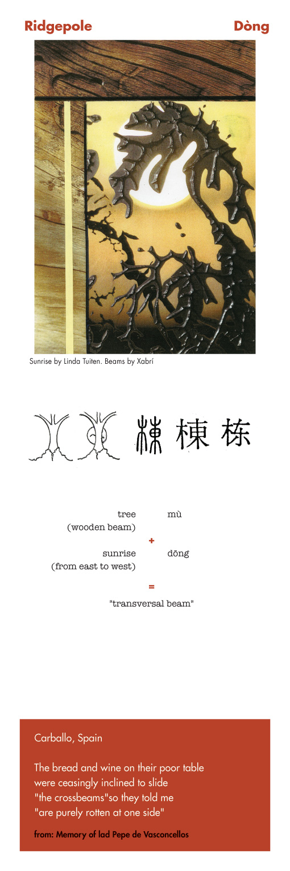 Chinese character ridgepool