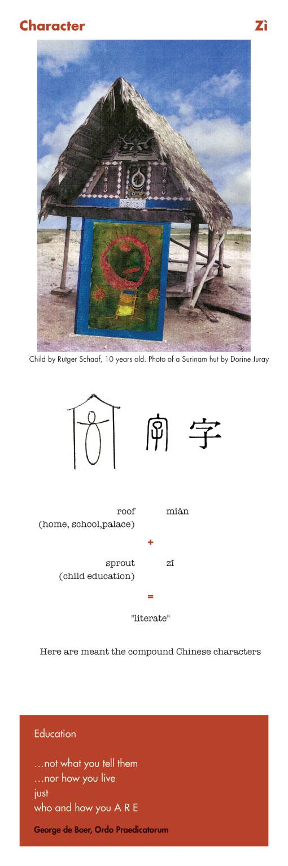 Chinese character - zi
